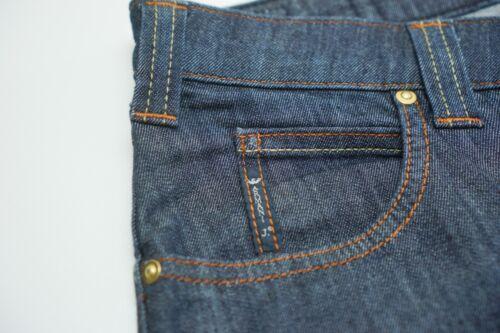 008 Hommes Bleu Jeans L32 Armani W29 Indigo Ajusté Jea835 Droit qBvptBrg