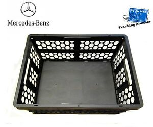 mercedes benz mercedes shopping crate anthracite genuine. Black Bedroom Furniture Sets. Home Design Ideas
