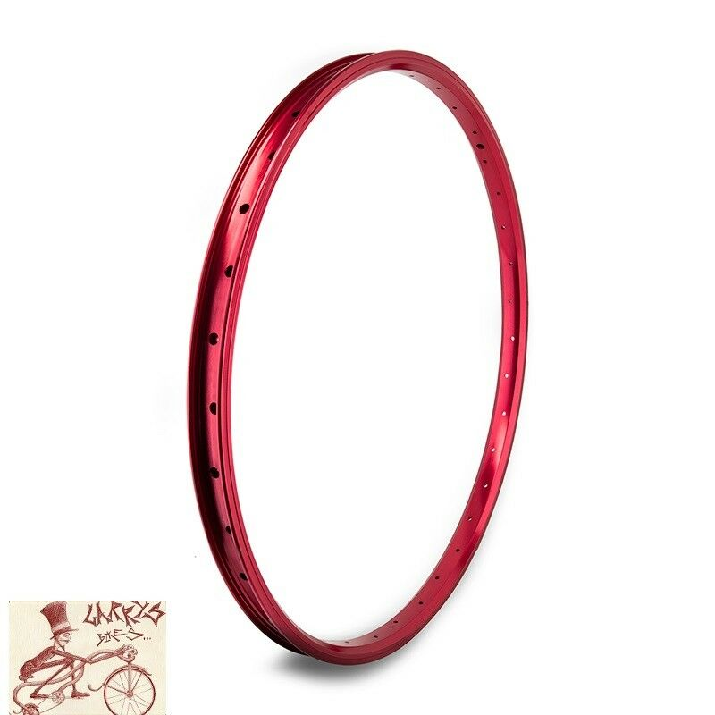 SE RACING BIKES J24SG  36H---26  x 1.75 RED BICYCLE RIM