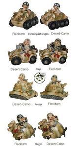 Lustige-Spardose-Jeep-Flieger-Panzer-Panzerspaehwagen-Deko-Soldat-Fun-Division