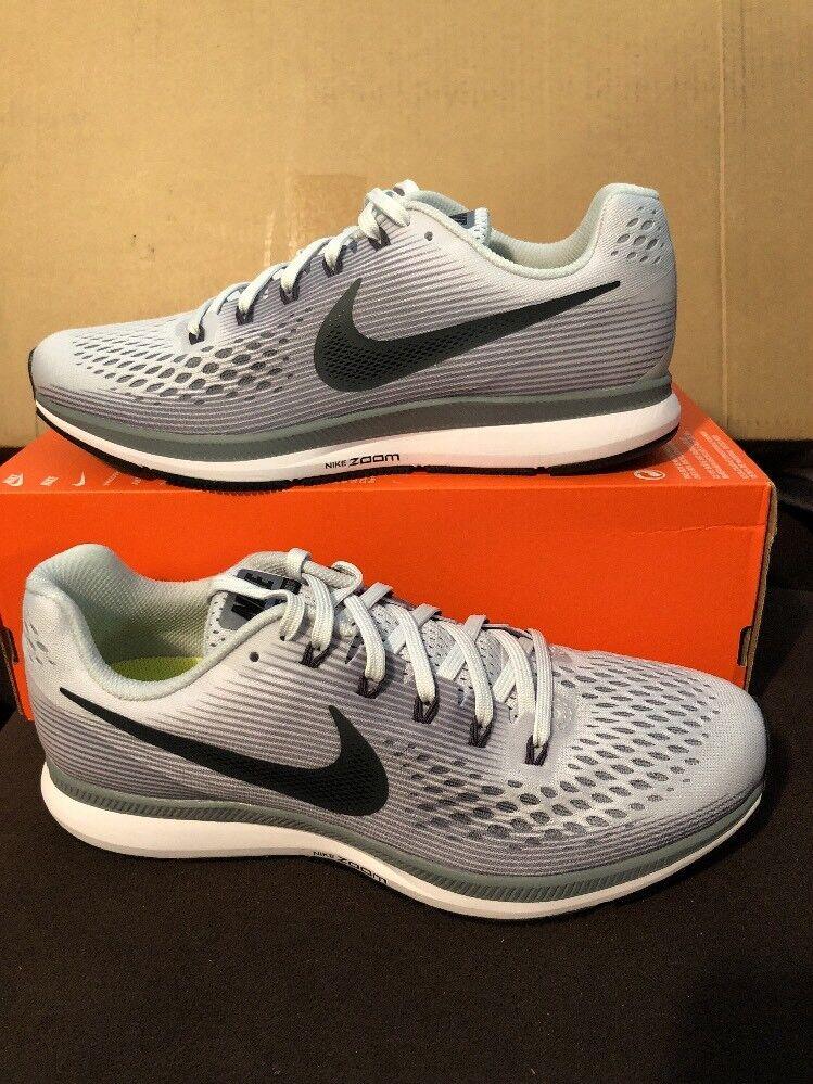 New Nike Womens Air Zoom Pegasus 34 Running Shoes 880560-010 Sz 11 Pure Platinum Seasonal clearance sale