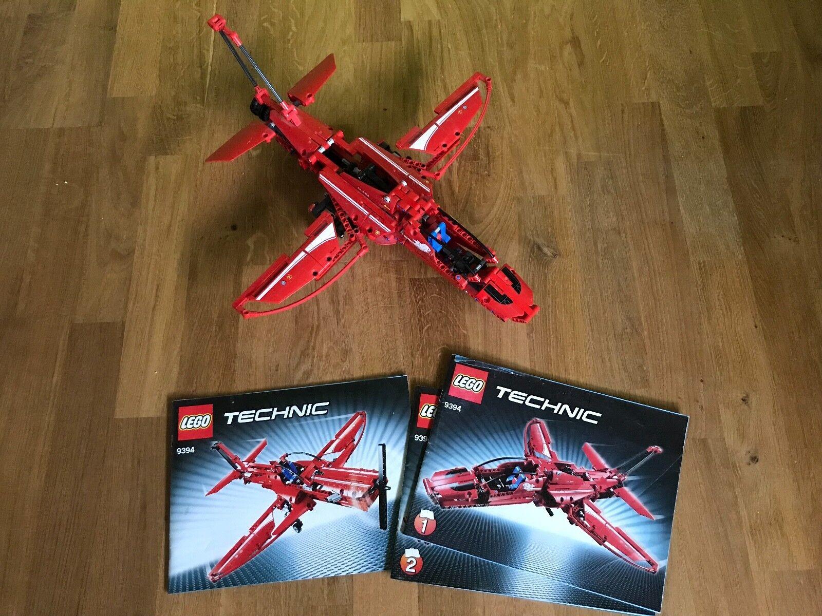 LEGO TECHNIC 9394 Flieger rot 2 in in in 1 Modell gebraucht komplett zerlegt 5b342d