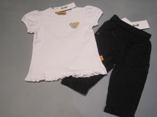 T-Shirt Gr 80  NEU 74 Steiff Baby Mädchen Hose marine weicher Bund 68 62