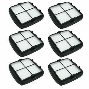 SaferCCTV 6pcs Replacement 203-7416 Pet Hair Eraser Hand Vac Filter for Bissell