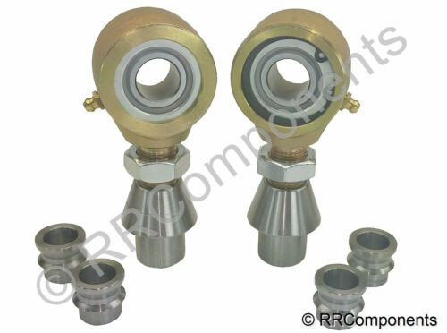 Chromoly Panhard 3//4 x 1//2 Bore Rodend Heim Joints Rock Fits 1-1//2 x.250 Tube