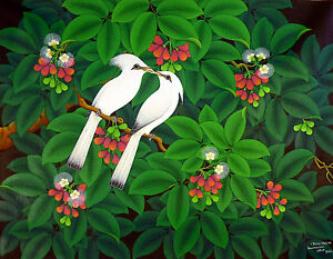 Hand-painting-Balinese-Bali-Starling-Jalak-Bell-Fruits-Detailed-198