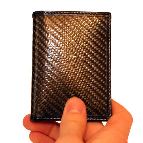 Estockco RFID Blocco Sicuro in fibra di carbonio ID titolare della carta di credito