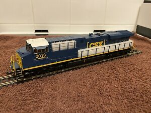 MTH-ES44AC-With-Protosound-3-0-CSX-3018-HO-Scale-Diesel-locomotive-80-2313-1