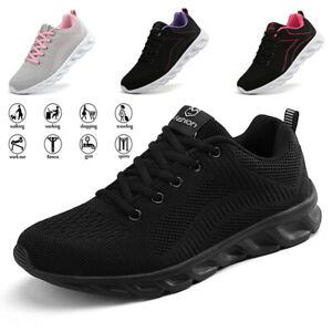 women's casual athletic sports sneakers breathable jogging