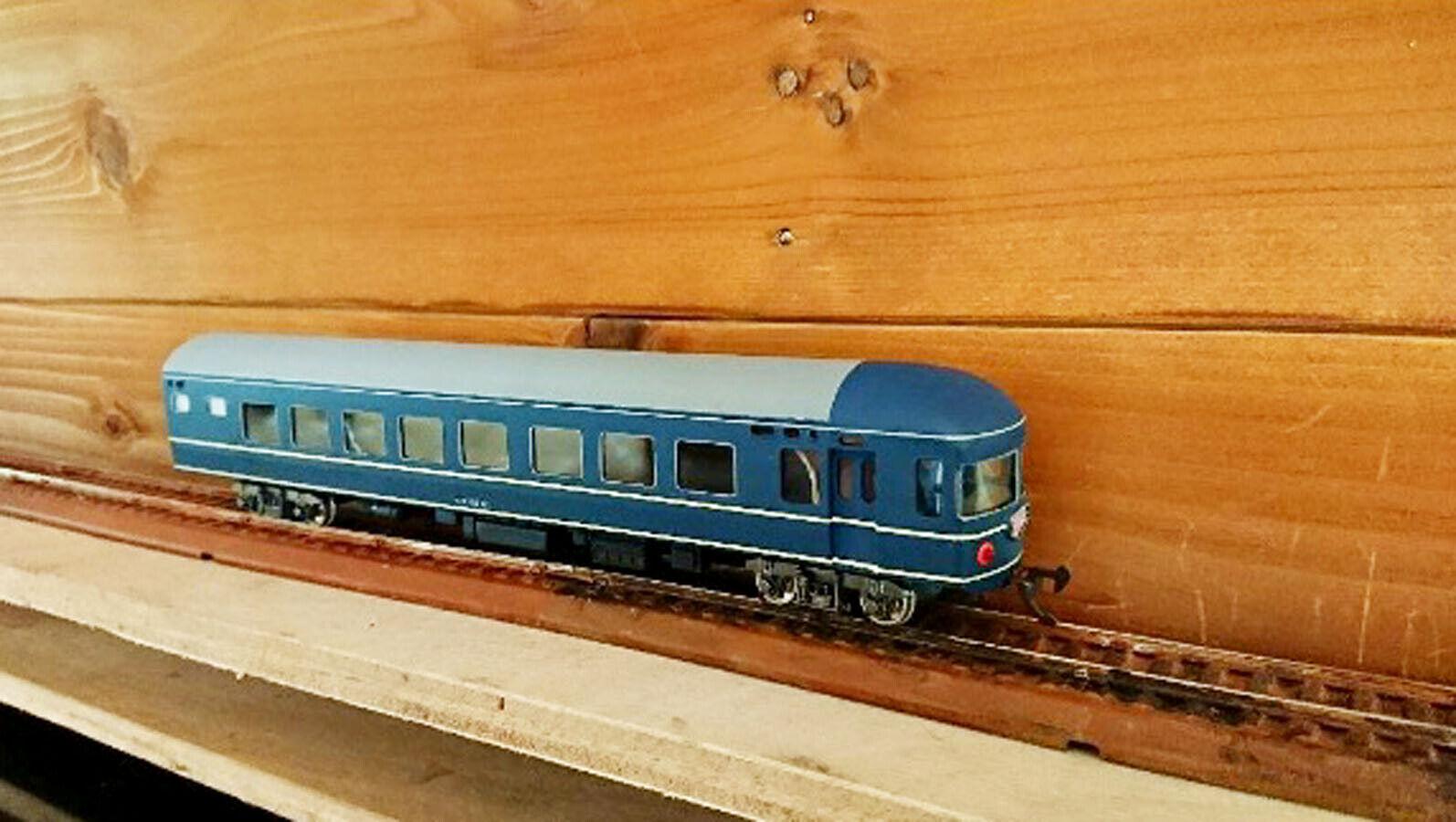 Katsumi HO Nahanefu 22 Passenger Train with box Vintage Toy F S