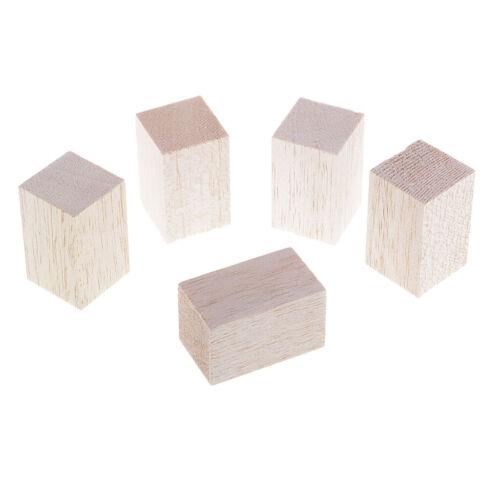 5//10x 5//12cm Balsa Wood Blocks Sticks Model Making Architect Arts Crafts