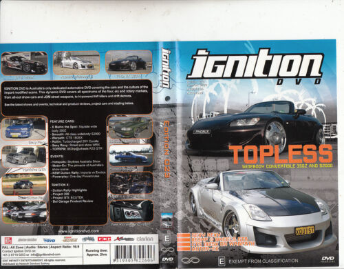 1 of 1 - Ignition-Edition 023-Topless-2007-Car Ignition-DVD
