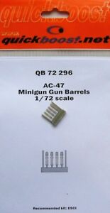 Quickboost-1-72-AC-47-Dakota-gun-ship-minigun-gun-barrels-7229