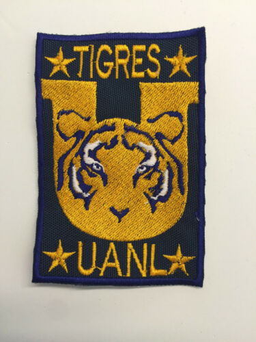 tigres uanl embroidered patch campeon mexico iron on or sew on