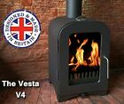 Wood Stove or Multifuel CE Approved Spring Sale price Made in the UK Vesta V4