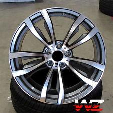 """20"""" Rims 469 Style fits BMW X5 X6 X5m X6M xDrive Gunmetal Machined Wheels 5X120"""
