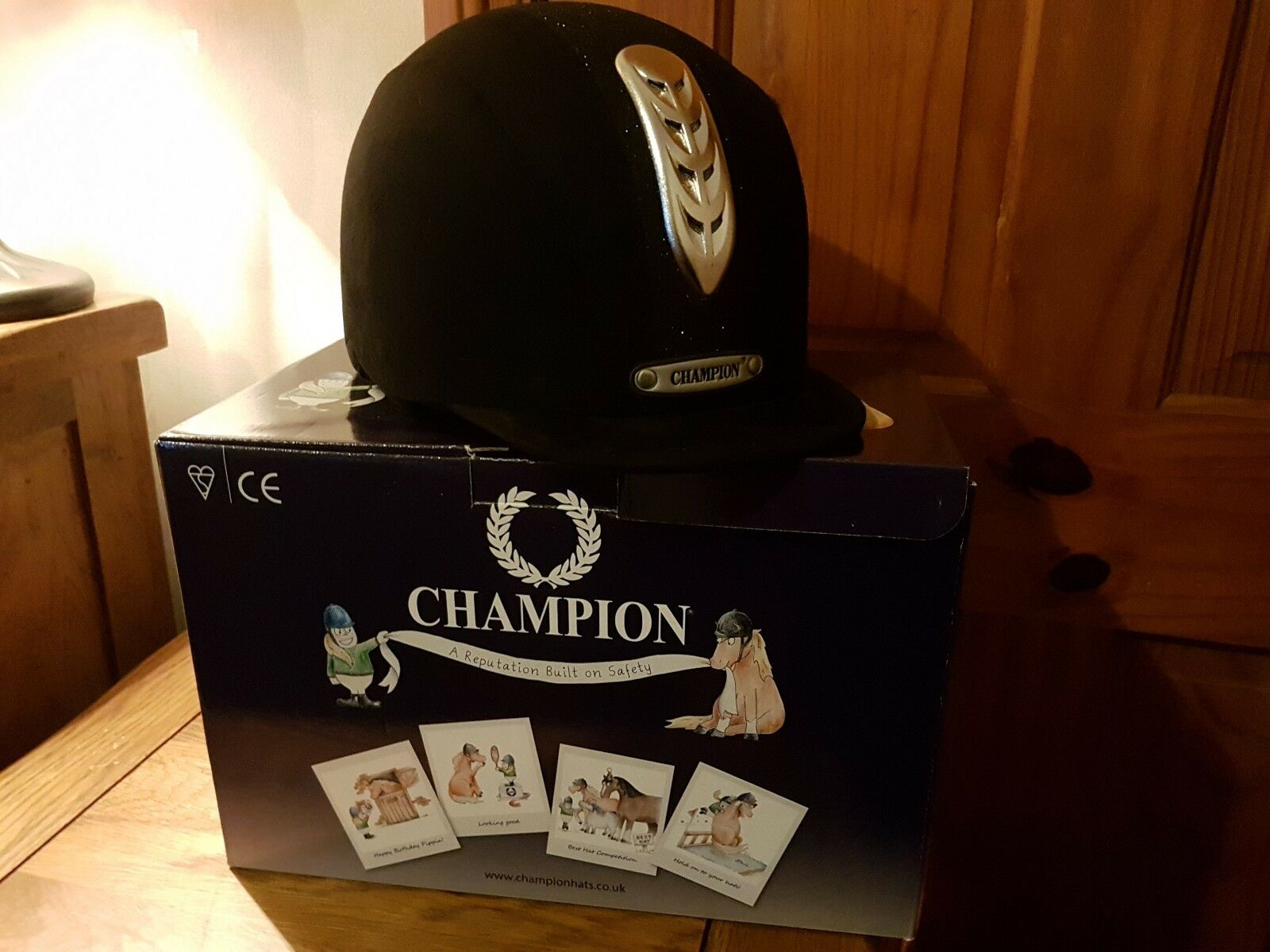 Champion X-Air Dazzle Plus Riding Hat Size 7 1 8 58cm
