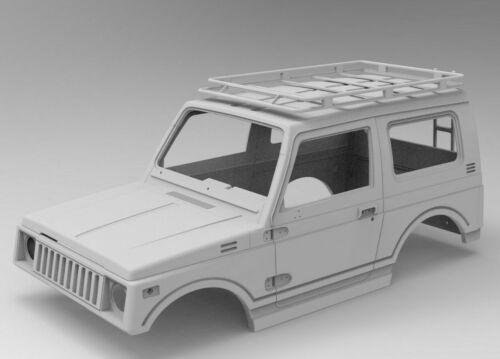 Rc Body Suzuki Samurai 3D Impresso Rc FDM Impressora 3D