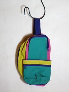 """Nylon Multicolored Zippered New Golf or Bike Bag- 7""""x12""""x6"""""""