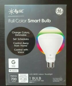 NEW C by GE LED BR30 Full Color Smart Floodlight Bulb Dimmable Fast Shipping