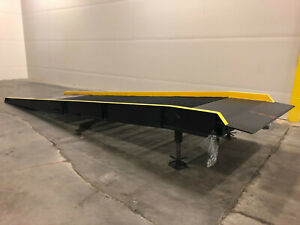 NEW-Vestil-Yard-Ramp-Steel-Overlap-Style-16-000lb-Cap-23-ftL-x-66in-wide