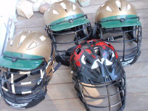 Lot de 4 Lacrosse Casques cascade 3 Taille moyenne 9 - 1 Taille L CLH2