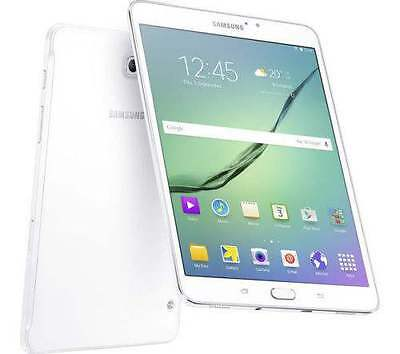 "New imported Samsung Galaxy Tab S2 32GB 3GB 8.0"" 8MP Wifi Cellular White Color"