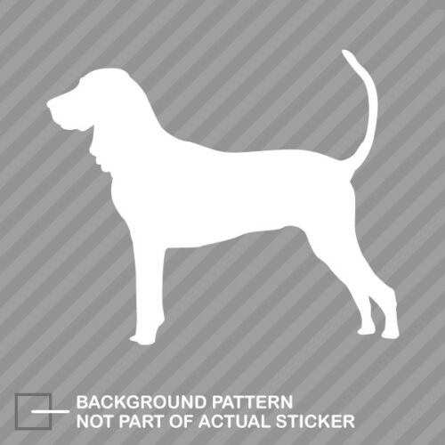 American Black and Tan Coonhound Sticker Die Cut Decal dog canine pet
