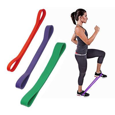 Yoga Bands Resistance Elastic Loop Exercise Workout Fitness Gym Training Sport Ebay