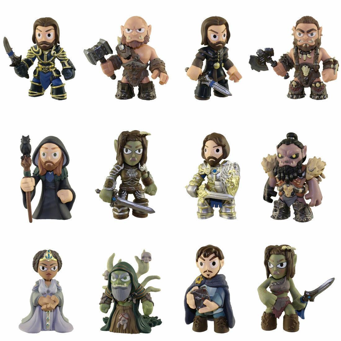 Funko Mystery Mini Vinyl Figures - Warcraft Movie - SET OF 12 - New Loose