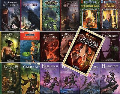 Fantasy Belletristik Nachdenklich Bundle-19 X Das Schwarze Auge-dsa-das Ferdoker Pergament-abenteuer-romane-neu Gesundheit Effektiv StäRken