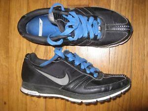 Nike-Zoom-Women-039-s-Size-8-5-Black-Blue-Gray-White-Sneakers-Running-Athletic-Shoes