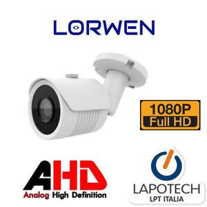 Lorwen-AHD-telecamera-bullet-BA10AN20N-1080p-Analogica-3mpx-multiformato-CVBS