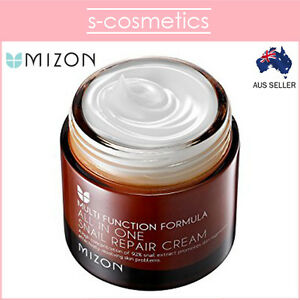 MIZON-All-in-One-Snail-Repair-Cream-75ml-Anti-Wrinkle-Moisturiser-Acne-Scar
