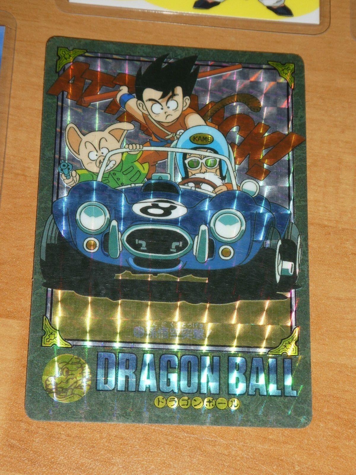 Dragon ball z dbz hervorruft, visuellen abenteuer teil 2 - karte prisma 45 japan 1991