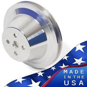 Ford-Water-Pump-Pulley-289-302-351W-V-Belt-SBF-1-Groove-Billet-Aluminum-WP-SB