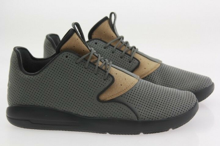 807706-034 Jordan Men Eclipse LTR tumbled gray cinnabar felt gold anthracite New shoes for men and women, limited time discount
