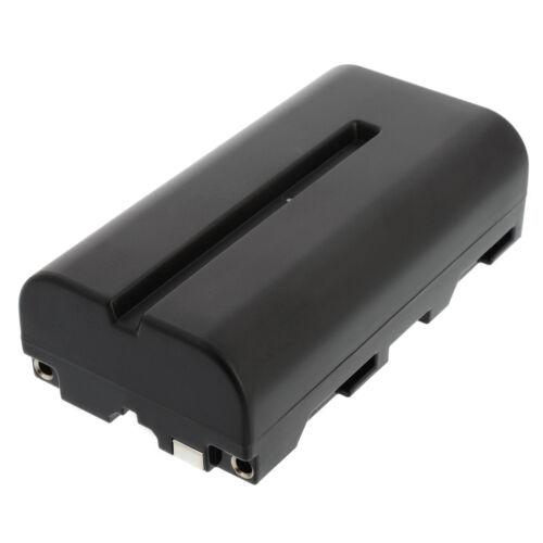 5x batería para Sony np-f550560092400mahnp-f330 f530 f550 f730 f770 f930 f970