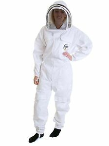 BUZZ-Work-Wear-Beekeeping-Suit-with-Fencing-Style-Veil-CHOOSE-YOUR-SIZE