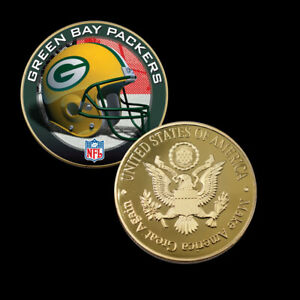 f5d35d25 Details about Nice Collectible Souvenir Gifts GREEN BAY PACKERS Metal Coin  Challenge Coins