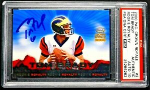 2000-Tom-Brady-Autograph-Rookie-Royalty-PSA-Auto-10-Pacific-Crown-Royale-2