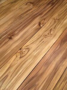 Teak Board Wood Plank Teak Wood Solid Wood Rustic 92x14cm 24mm