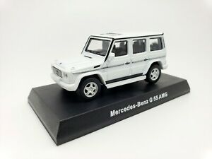 1-64-Kyosho-Mercedes-Benz-AMG-Minicar-Collection-G55-G-Class-Wagon-W463-White-SE