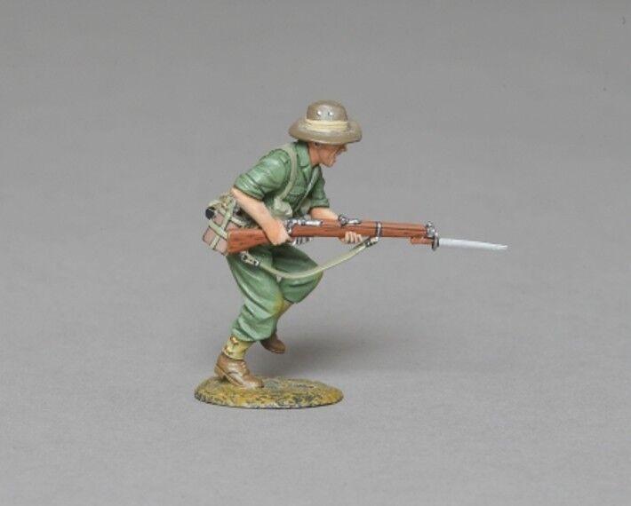 THOMAS GUNN WW2 PACIFIC RS055 AUSTRALIAN CHARGING WITH FIXED BAYONET MIB