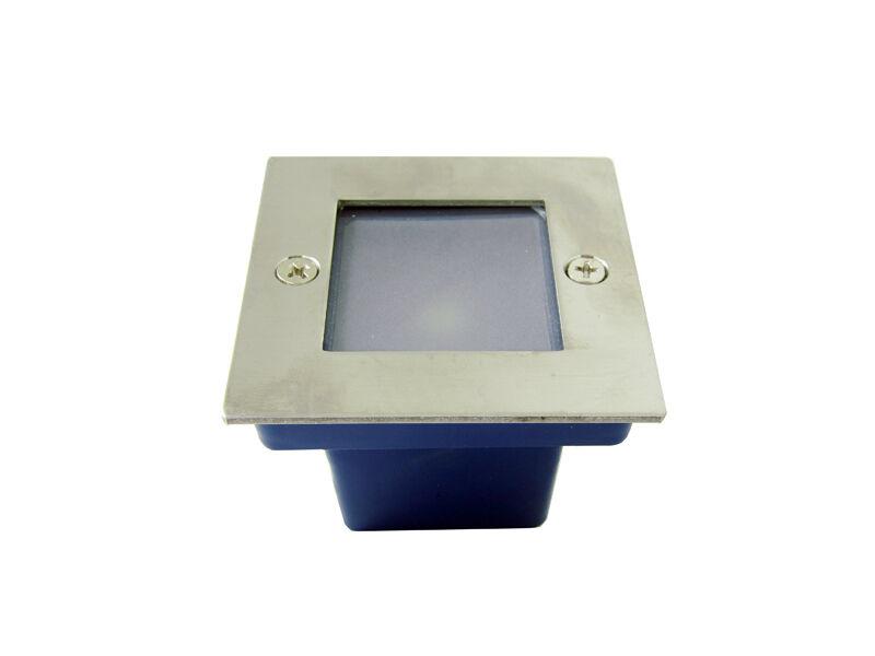 10 x 1w LED Lampe Souterrain Etanche Eclairage Lumière Cocheré blanco Chaud