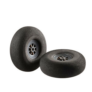 Flugmodell caoutchouc mousse roues 64 mm super léger 1 paire partcore 330004  </span>