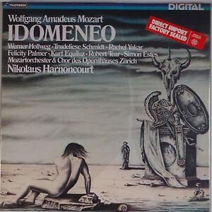 MOZART-Idomeneo-HARNONCOURT-Telefunken-SEALED-Digital-Audiophile-IMPORT-LP