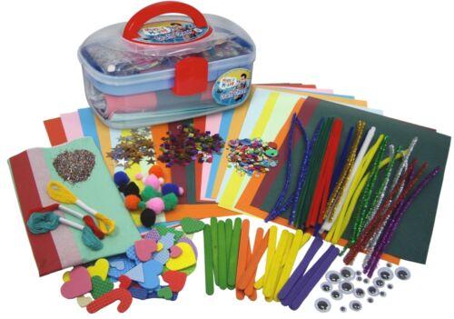 Enfants Enfants Mister Maker Art /& Craft poitrine Creative Design Set