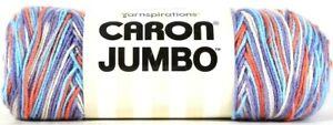 1-Yarnspirations-12-Oz-Caron-Jumbo-16004-Floral-Ombre-4-Med-100-Acrylic-Yarn