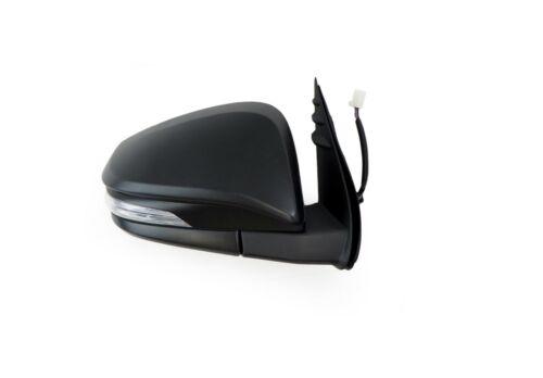 Door Mirror Right Black Blinker Electric For Toyota Hilux Tgn//Kun//Ggn 2015-On